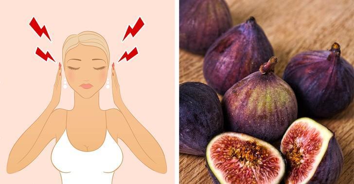 Quả sung tốt cho cơ thể của chúng ta nhưng chúng cũng có ích khi xử lý chứng đau nửa đầu. Theo các chuyên gia, trái cây chứa kali giúp giảm viêm và giảm đau đầu rất hiệu quả.