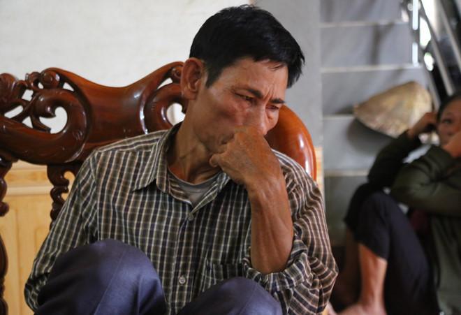 Ông Gia trình báo việc mất liên lạc với con trai Nguyễn Đình Lượng.