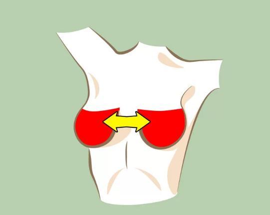 ầu ngực cách xa nhau  Suy giảm estrogen là nguyên nhân dẫn đến tình trạng cơ ngực kém săn chắc, khiến hai bầu ngực có xu hướng chảy xệ sang hai bên, tăng khoảng cách giữa hai ngực. Để cải thiện tình trạng, bạn nên tăng cường ăn các thực phẩm giàu estrogen như táo, lựu, cà rốt, khoai lang, các loại hạt...