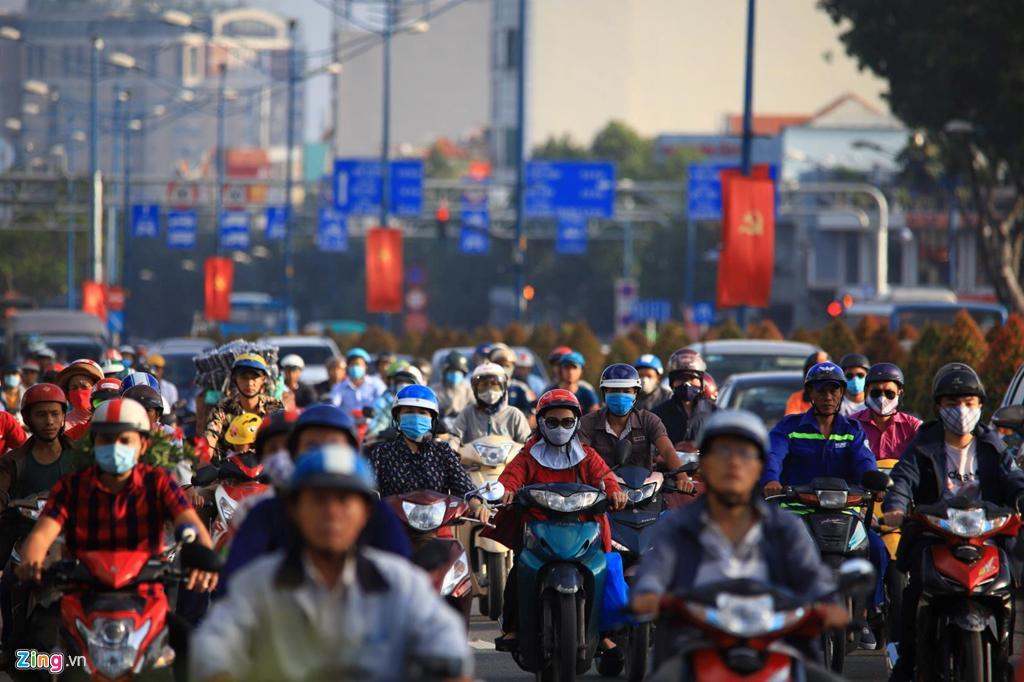 Bộ Giao thông Vận tải quy định tốc độ tối đa cho phép đối với xe máy là 40 km/h.