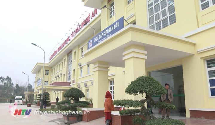 Bệnh viện Đa khoa Tây Bắc Nghệ An.