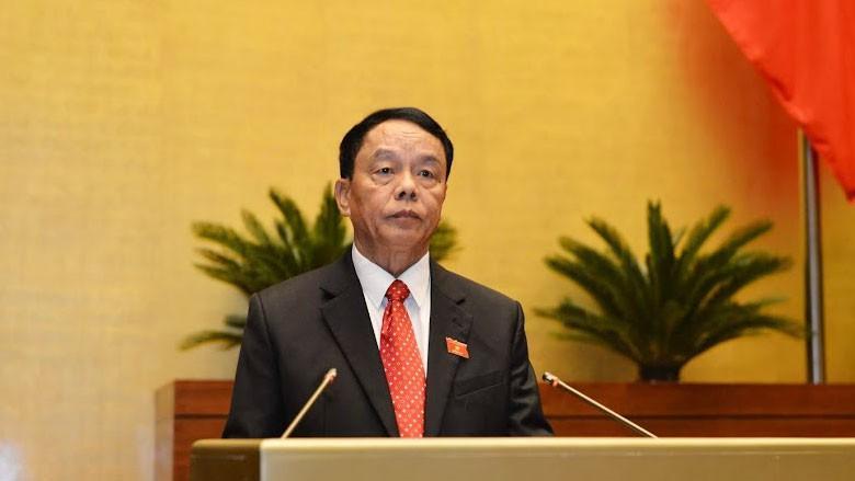 Chủ nhiệm Ủy ban Quốc phòng và An ninh của Quốc hội Võ Trọng Việt.