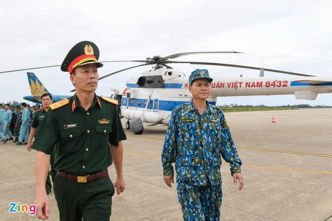 Trung tướng Nguyễn Trọng Bình, Phó tổng tham mưu trưởng Quân đội Nhân dân Việt Nam.