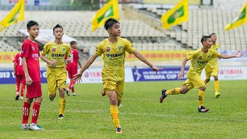 U13 SLNA Nghệ An tiến thẳng vào chung kết với thành tích bất bại.