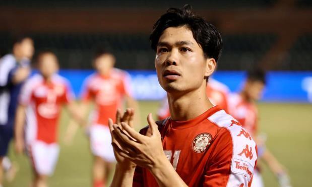 Công Phượng nhận danh hiệu cầu thủ xuất sắc nhất V-League tháng 7, 9.