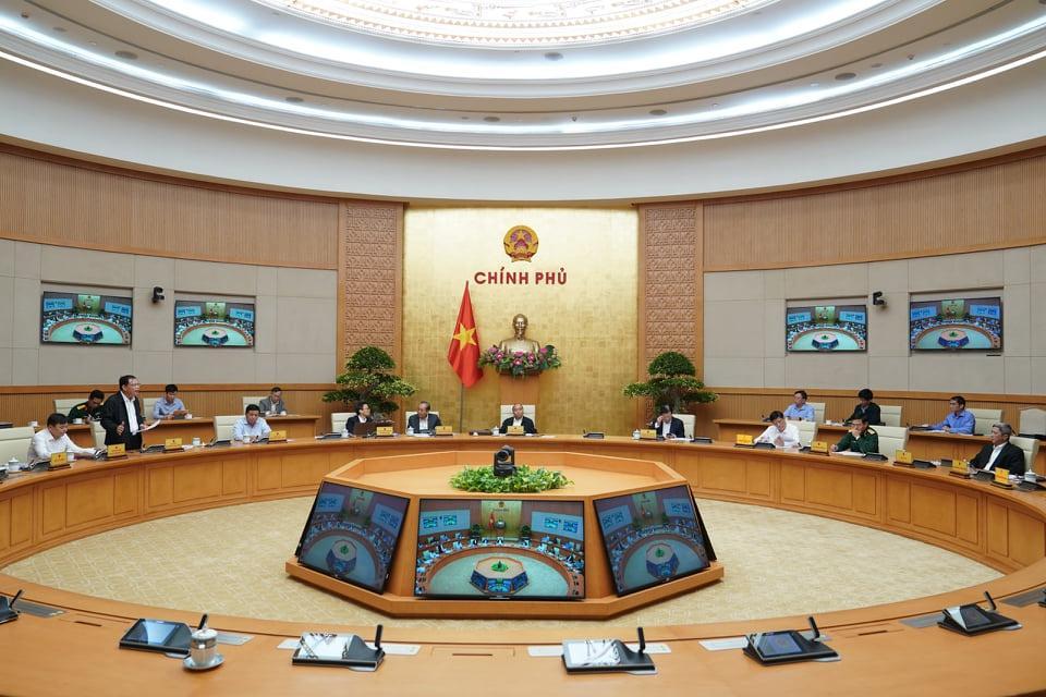 Cuộc họp Thường trực Chính phủ chiều 19/10.