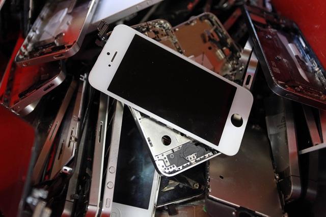 Hơn 100.000 iPhone, iPad tái chế bị tuồn ra thị trường