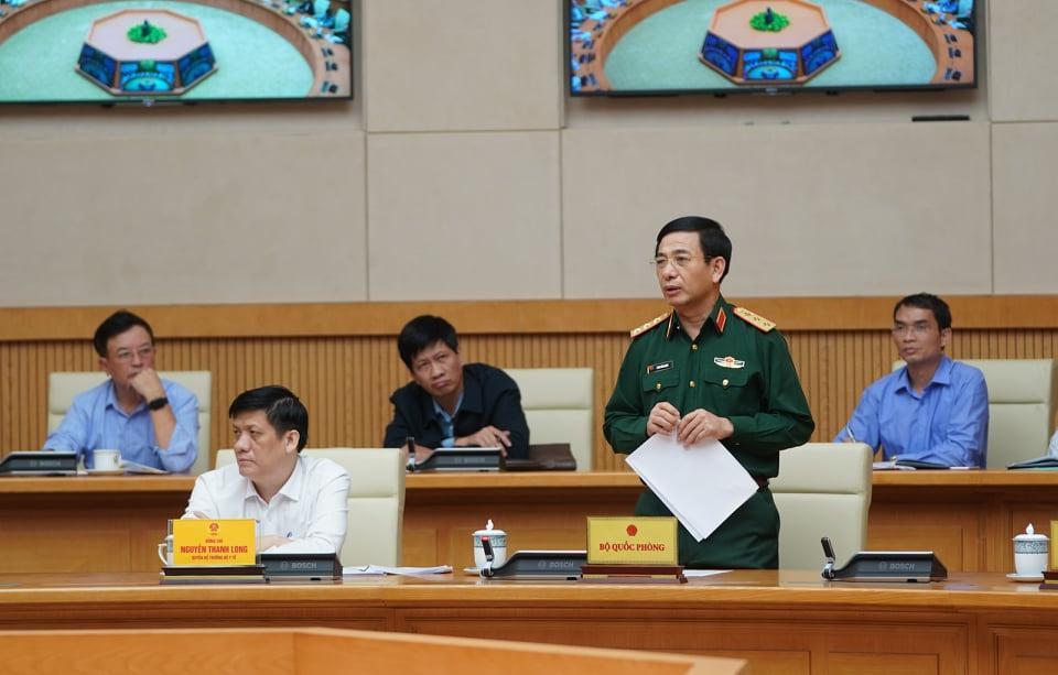 Thượng tướng Phan Văn Giang - Thứ trưởng Bộ Quốc phòng, Tổng tham mưu trưởng QĐND Việt Nam.