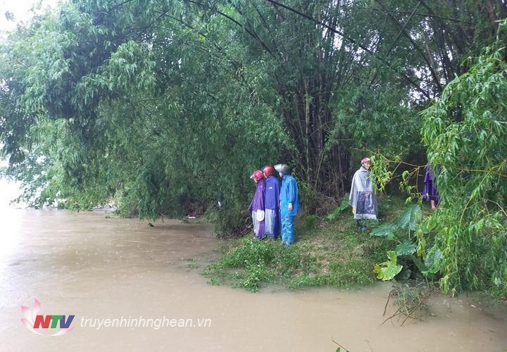 Hiện trường nơi xảy ra vụ đuối nước.