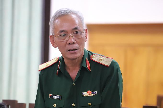 Thiếu tướng Nguyễn Đức Hóa.