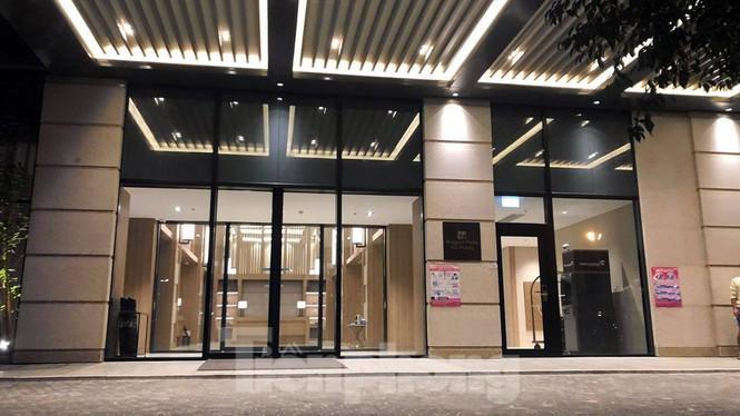 Sảnh lễ tân khách sạn Roygent Park Hải Phòng.