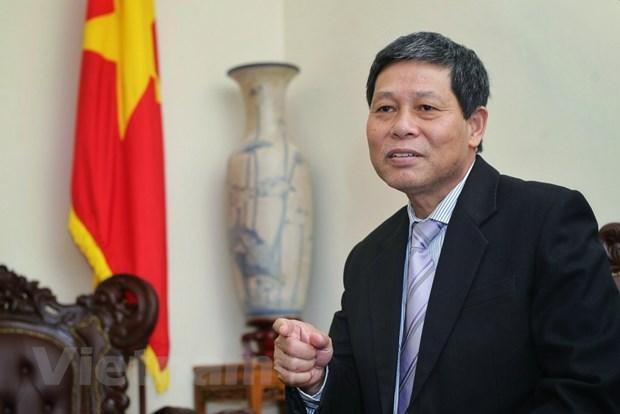 Đại sứ Việt Nam tại Malaysia Lê Quý Quỳnh trả lời phỏng vấn.