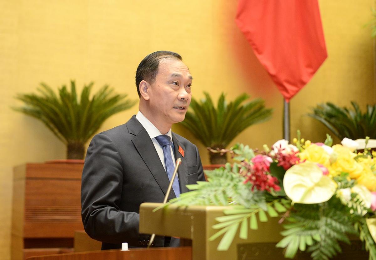Chủ nhiệm Ủy ban Kinh tế của Quốc hội Vũ Hồng Thanh. (ảnh: Quochoi.vn)