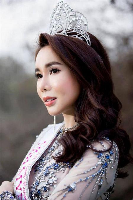 Hoa hậu Lã Kỳ Anh khi đăng quang Hoa hậu Thế giới người Việt.