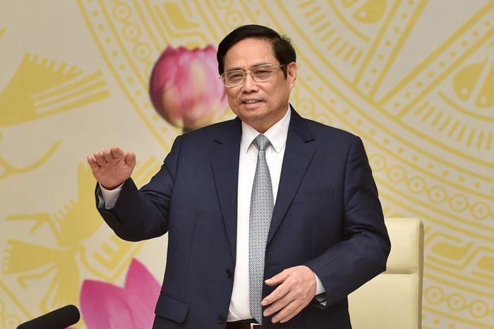 Thủ tướng Phạm Minh Chính nhấn mạnh mục tiêu kiểm soát dịch bệnh để phát triển kinh tế - xã hội. Ảnh: VGP.