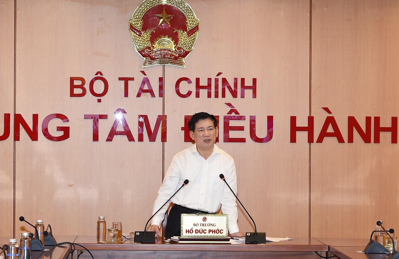 Tổ công tác do Bộ trưởng Bộ Tài chính Hồ Đức Phớc làm Tổ trưởng thường trực. Ảnh:mof.gov.vn