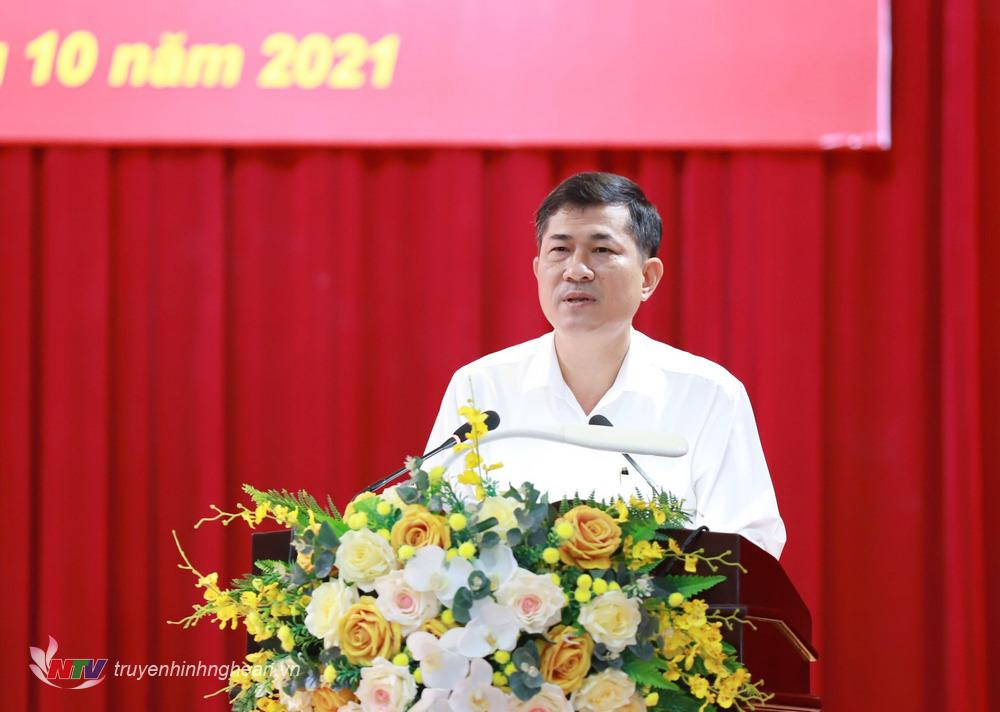 Đại biểu Thái Văn Thành đại diện đoàn