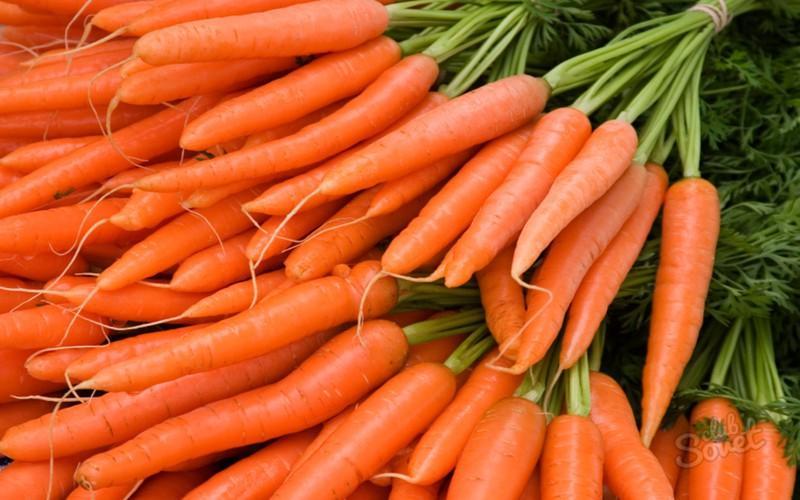 Cà rốt có chứa carotene dồi dào có thể được chuyển đổi thành vitamin A trong cơ thể con người giúp cải thiện lá lách và gan, tăng cường chức năng đường ruột và dạ dày...