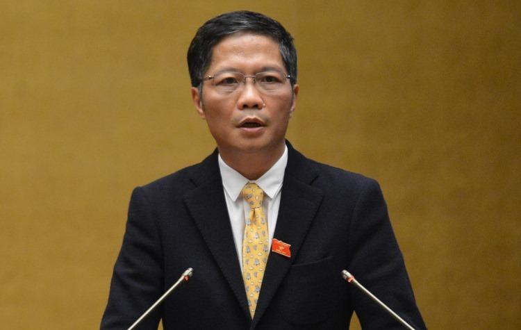 Bộ trưởng Công Thương Trần Tuấn Anh trả lời chất vấn Quốc hội.