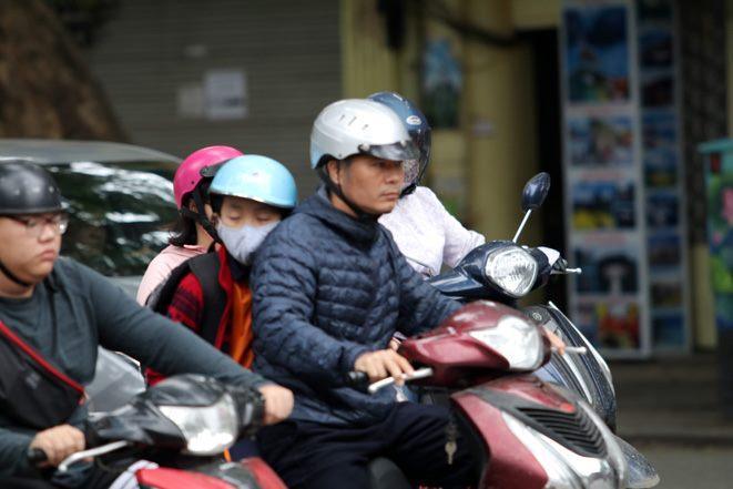 Sáng nay, không khí lạnh ảnh hưởng đến các tỉnh Bắc Trung bộ.