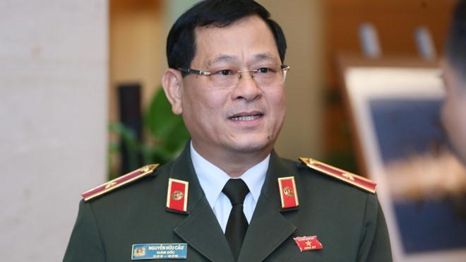 Ông Nguyễn Hữu Cầu - Giám đốc Công an tỉnh Nghệ An.