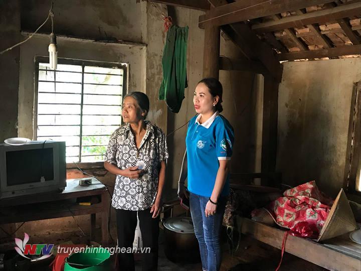 Hội phụ nữ bám sát đời sống các hội viên để kịp thời giúp đỡ