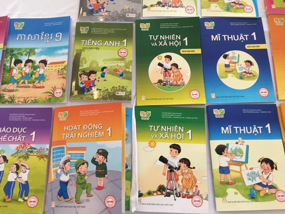 Một trong những bộ SGK lớp 1 của Nhà xuất bản Giáo dục Việt Nam đã được Hội đồng quốc gia thẩm định.