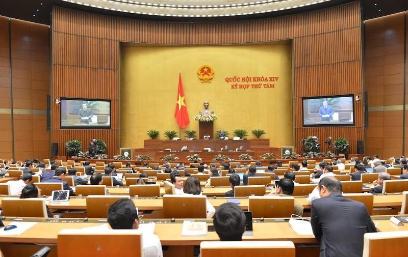 Quốc hội làm việc ngày 22/11.