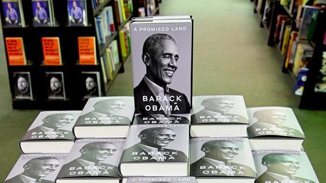 Cuốn hồi ký Miền Đất hứa rất ăn khách của ông Barak Obama