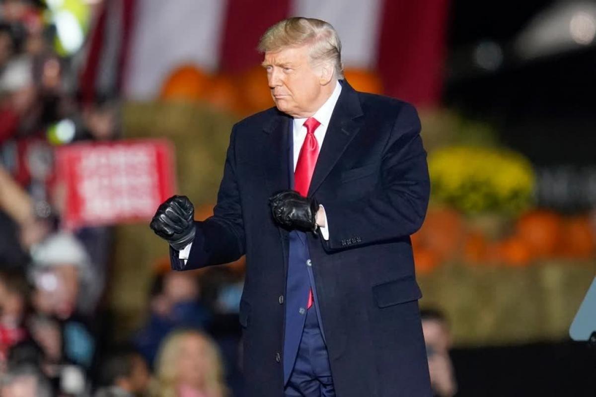 Nhóm của ông Trump sẽ tiếp tục các vụ kiện liên quan đến phiếu bầu. (Ảnh: AP)