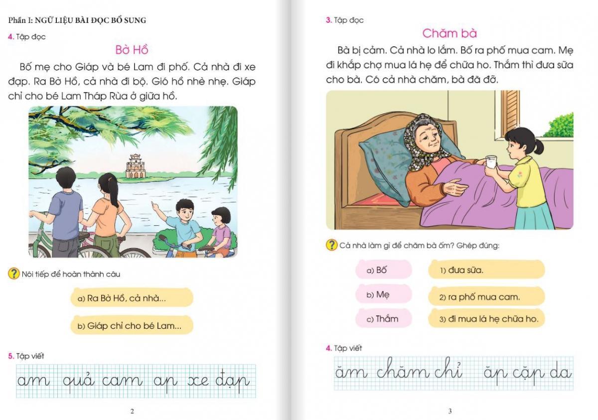 Tài liệu điều chỉnh SGK Tiếng Việt 1 thuộc bộ Cánh Diều.