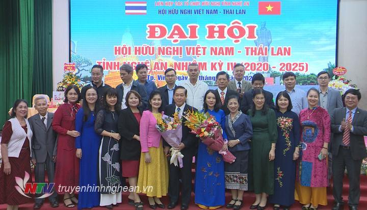 Ra mắt Ban Chấp hành Hội hữu nghị Việt Nam - Thái Lan nhiệm kỳ 2020- 2025.