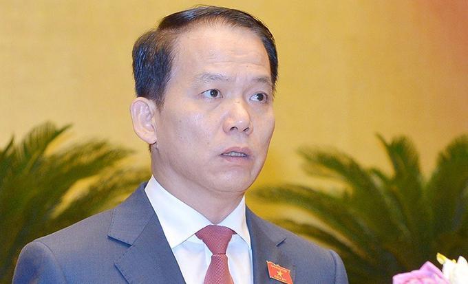 Ông Hoàng Thanh Tùng, Chủ nhiệm Ủy ban Pháp luật.
