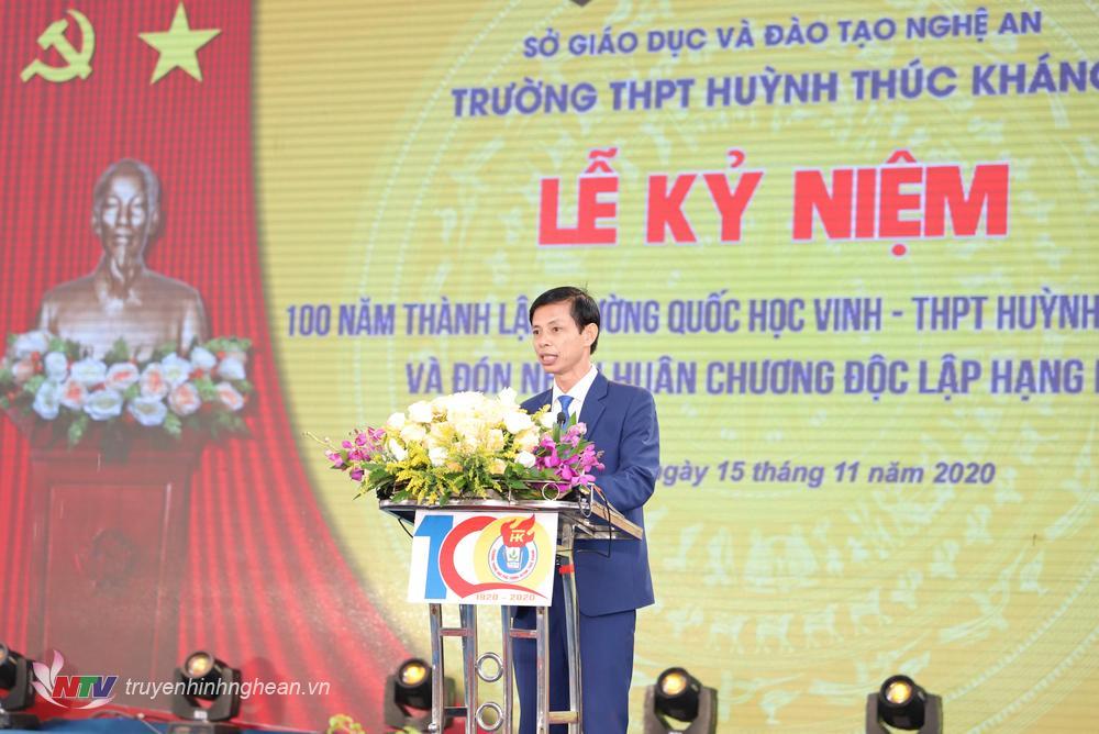 Thầy Cao Thanh Bảo – Bí Thư Chi bộ, Hiệu trưởng