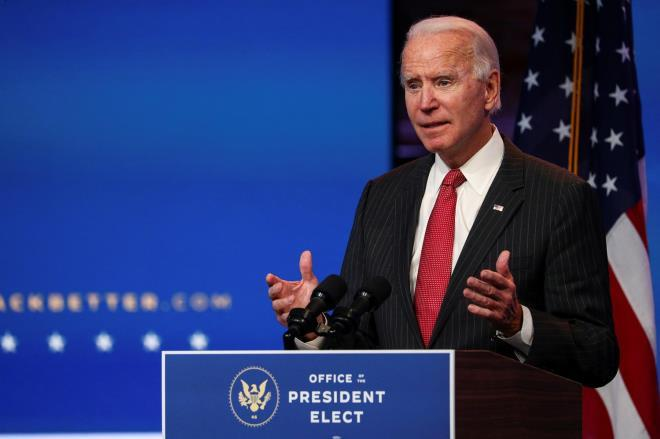 Ông Joe Biden. (Ảnh: Reuters)