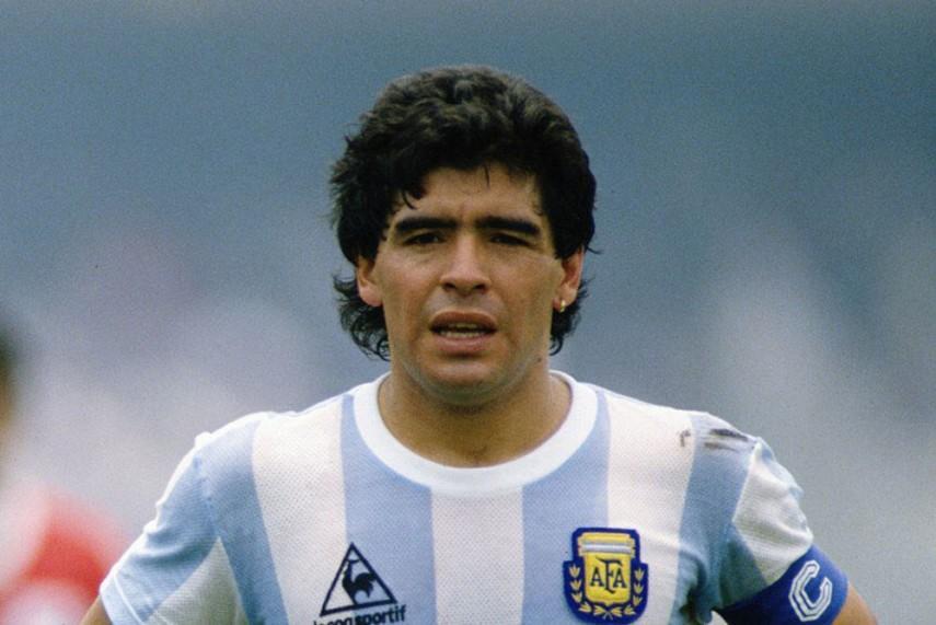 Huyền thoại bóng đá Argentina Diego Maradona thời trẻ. Ảnh: ESPN