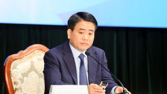Cựu Chủ tịch UBND TP Hà Nội Nguyễn Đức Chung.