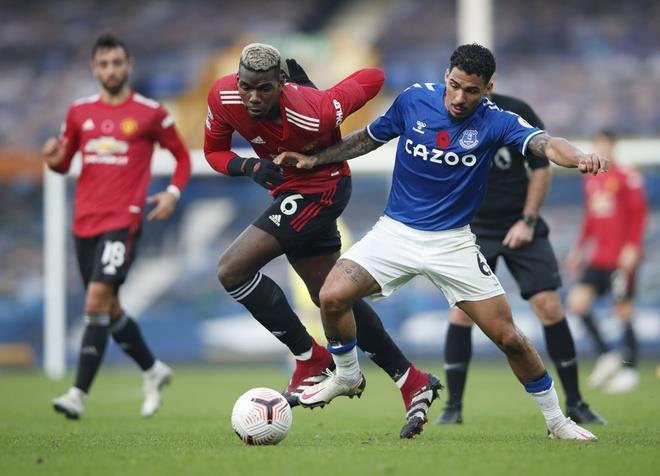 Pogba không để lại ấn tượng ở Man Utd.