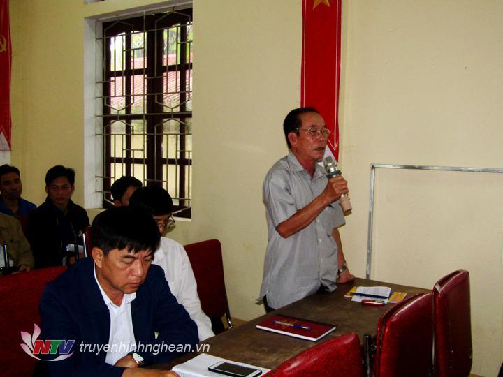Cử tri Lim Văn Nam – Xã Châu Hội có ý kiến về kiểm tra tu sửa hoặc xây mới nhà văn hóa xuống cấp.