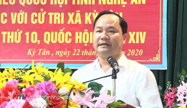 Ông Hoàng Quốc Việt - Phó Bí thư, Chủ tịch UBND huyện Tân Kỳ