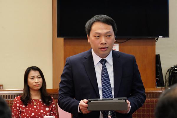 Tân Thứ trưởng Bộ TT&TT - Nguyễn Huy Dũng.