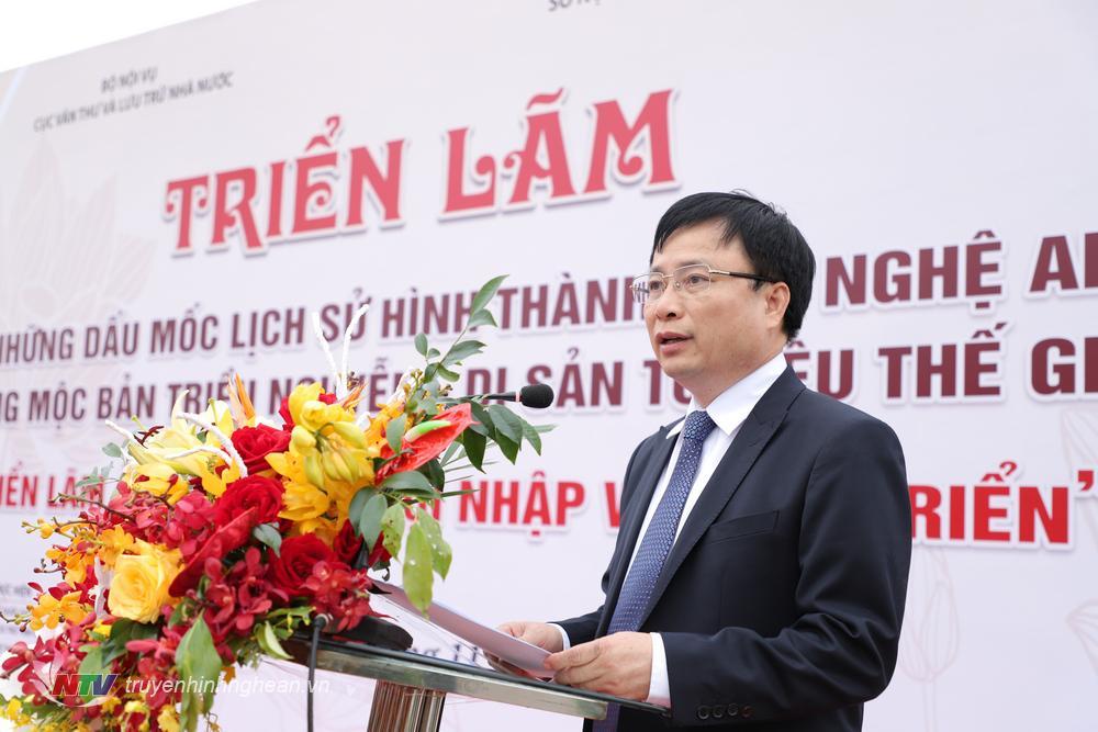 Phó Chủ tịch UBND tỉnh Bùi Đình Long: