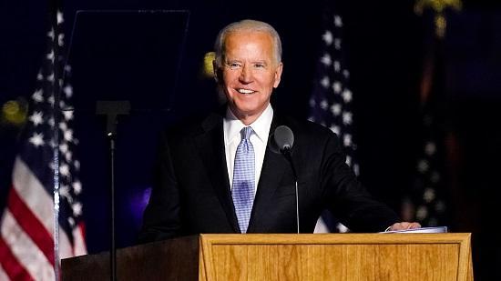 Ông Joe Biden phát biểu tại Wilmington, bang Delaware, Mỹ, ngày 7/11/2020. Ảnh: internet