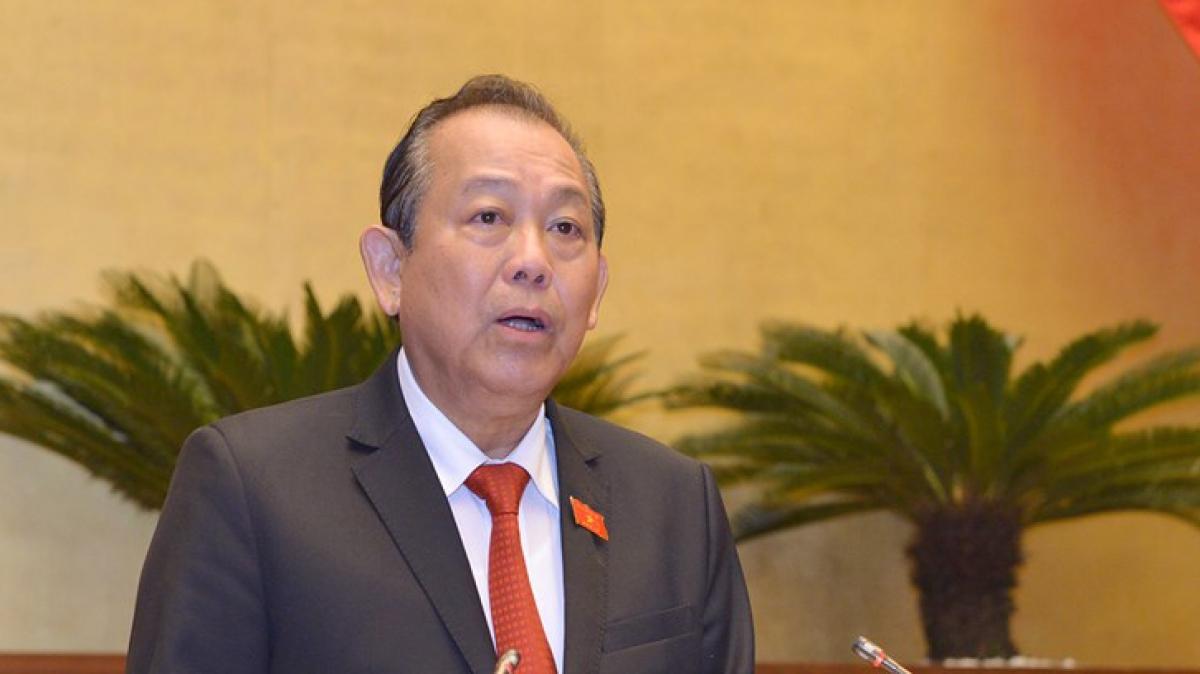 Phó Thủ tướng Thường trực Trương Hòa Bình sẽ thay mặt Chính phủ trình bày Báo cáo việc thực hiện các nghị quyết của Quốc hội về giám sát chuyên đề và chất vấn trong nhiệm kỳ