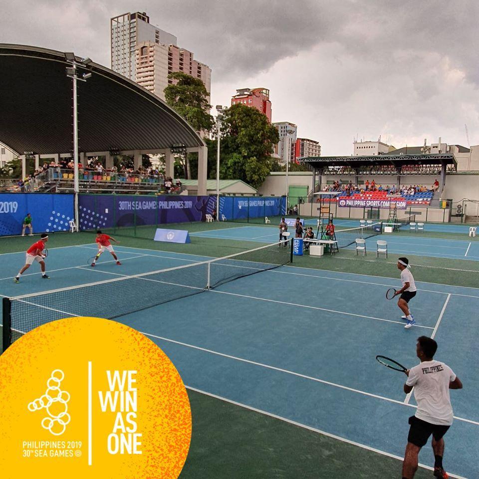 Các VĐV quần vợt Việt Nam thi đấu rất thành công tại giải đấu năm nay.