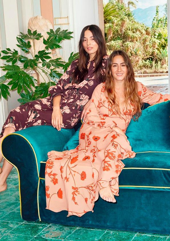 Nữ tính và gợi cảm là tinh thần chung từ BST của H&M kết hợp với nhà thiết kế người Columbia, Johanna Ortiz.