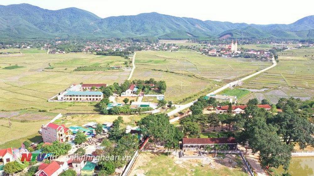 Toàn cảnh nông thông mới Yên Thành.
