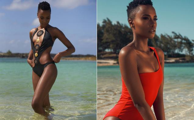 Trên tài khoản cá nhân, cô gái 25 tuổi thường xuyên đăng tải hình ảnh khoe dáng nóng bỏng với áo tắm. Cô được khen ngợi đường cong hấp dẫn không kém đại diện Nam Phi năm ngoái - Á hậu 1 Miss Universe 2018 Tamaryn Green.