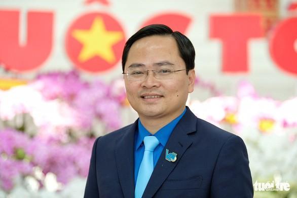 Anh Nguyễn Anh Tuấn, bí thư thường trực Trung ương Đoàn, tân chủ tịch Trung ương Hội Liên hiệp thanh niên Việt Nam khóa VIII.