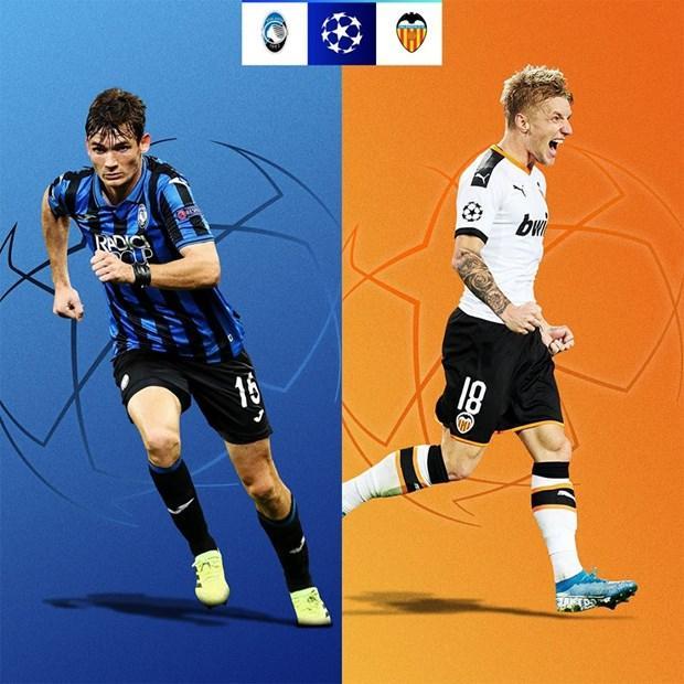 Atalanta - Valencia. Đây được coi là cặp đấu nhẹ ký nhất ở Champions League (Nguồn: UEFA)